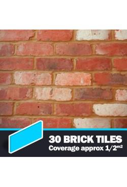 Olde Victorian Mixture Brick Tiles