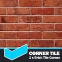 Antique Mixture Brick Tile Corners