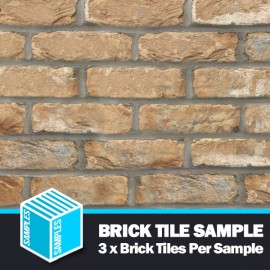 The Cotswold Buff Brick Tile - Sample