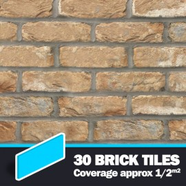 Cotswold Buff Brick Tiles