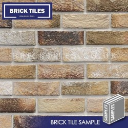 London Weathered Yellow Brick Tile - Sample