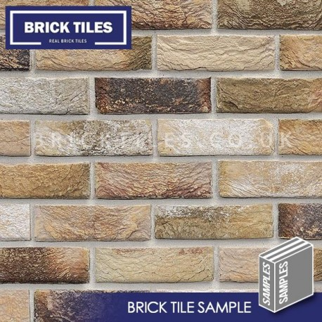 London Weathered Yellow Brick Tiles Sample