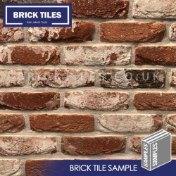 Docklands Red Multi Brick Tile - Sample