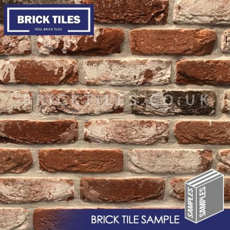 Docklands Red Multi Brick Slip - Sample
