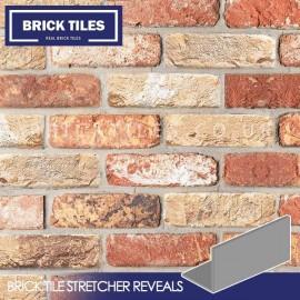 Cottage Mixutre Brick Tile Stretcher Reveals