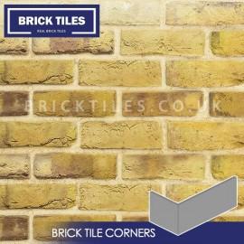 London Reclaimed Stock Brick Slip Corners