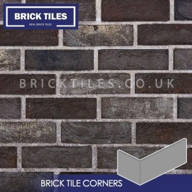 Nero Brick Tile Corners