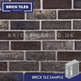 Nero Brick Tile - Sample