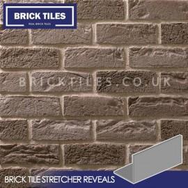 Silver Grey Brick Tile Stretcher Reveals