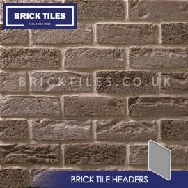 Silver Grey Brick Tile Headers