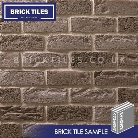 Silver Grey Brick Tile Sample