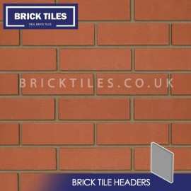 Smooth Red Brick Tile Headers