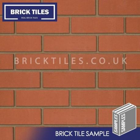 Smooth Red Brick Tile Sample