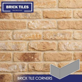 New Sandalwood Brick Tile Corners