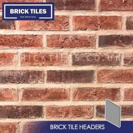 Urban Weathered Red Brick Tile Headers
