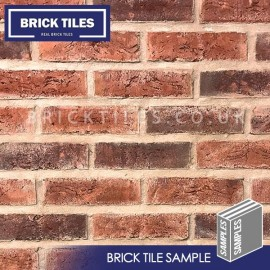 Urban Weathered Red Brick Tile - Sample