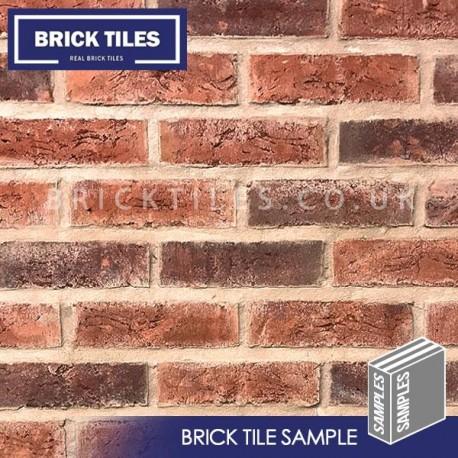 Urban Weathered Red Brick Tile - Sample