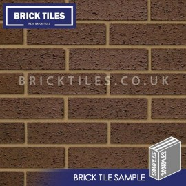Brown Rustic Brick Tile - Sample