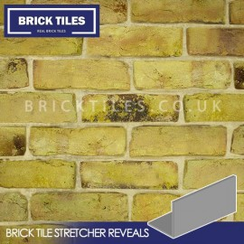 Reclamation Yellow Stock Brick Tile Stretcher Reveal