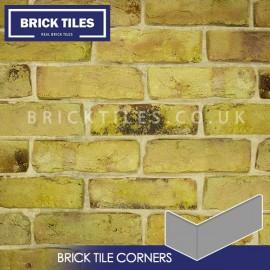 Reclamation Yellow Stock Brick Tile Corners