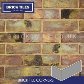 Reclaimed Coach House Brick Tile Corners