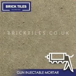 Light Grey Brick Tile Gun Injected Mortar