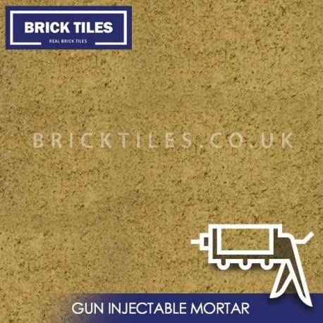Sandstone Brick Slips Gun Injected Mortar
