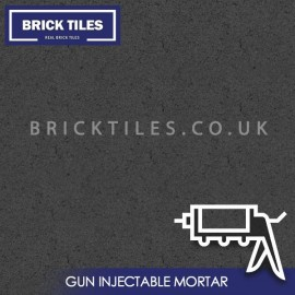 Dark Grey Brick Slips Gun Injected Mortar