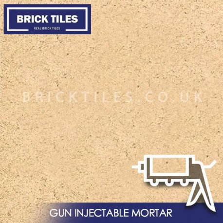 Portland Brick Slips Gun Injected Mortar
