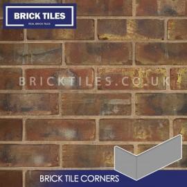 Olde Victorian Red Blend Brick Tile Corners