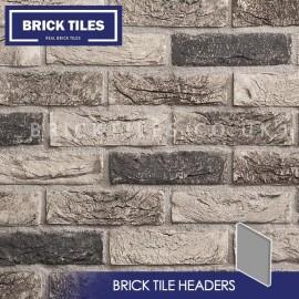 Atom Grey Brick Tile Header